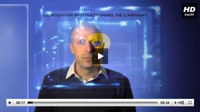Jacques Forest, Le pouvoir motivationnel de l'argent, vidéo, motivation des salariés