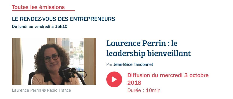 Laurence Perrin, France Bleu Alsace